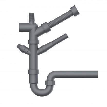 Отводная арматура для измельчителей Nagare NA-01