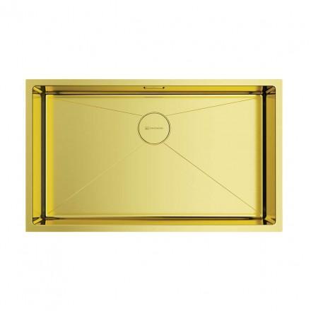 Мойка Omoikiri TAKI 74-U/IF LG, светлое золото