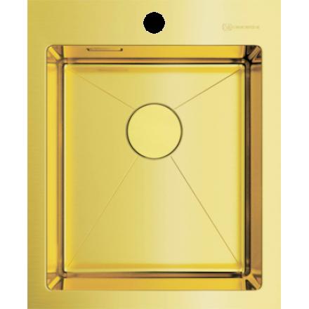Мойка Omoikiri Akisame 41 Lg, светлое золото