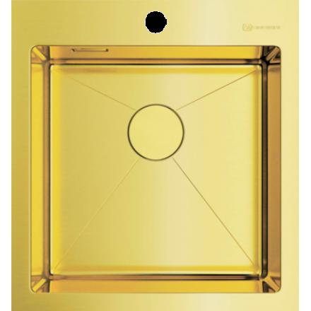 Мойка Omoikiri Akisame 46 Lg, светлое золото