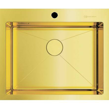 Мойка Omoikiri Akisame 59 Lg, светлое золото