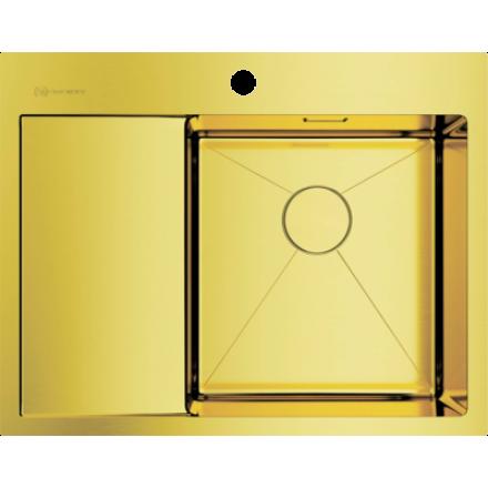 Мойка Omoikiri Akisame 65 Lg-R, светлое золото