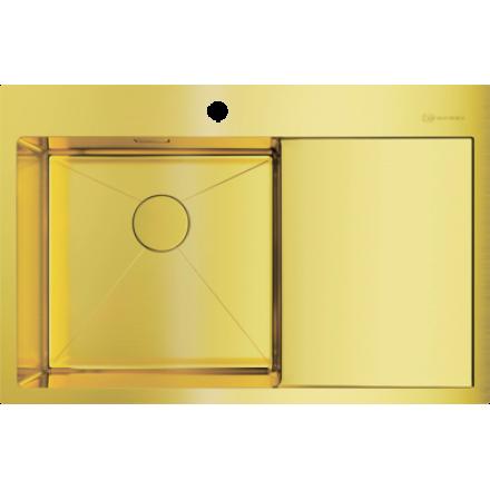 Мойка Omoikiri Akisame 78 Lg-L, светлое золото