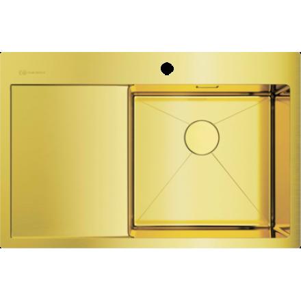 Мойка Omoikiri Akisame 78 Lg-R, светлое золото