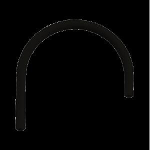 Сменный гибкий шланг для смесителя Omoikiri Kanto Оt-01 Bl, черный