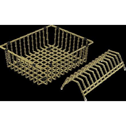 Корзина для сушки Omoikiri Co-03 Lg, светлое золото