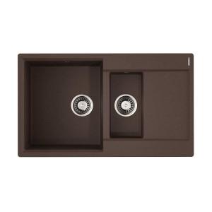 Мойка Omoikiri Daisen 86-2 Dc, темный шоколад