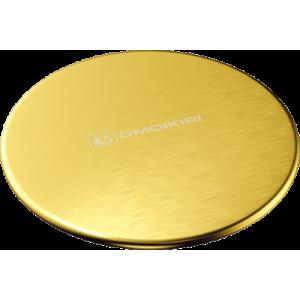 Декоративный элемент для корзинчатого вентиля Omoikiri Dec Lg, светлое золото