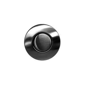Пневматическая кнопка Omoikiri SW-01 GM. вороненая сталь