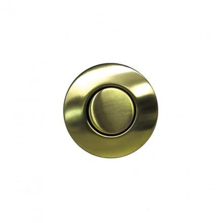 Пневматическая кнопка Omoikiri SW-01 LG. светлое золото