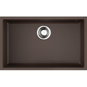 Мойка Omoikiri Tedori 66-U Dc, темный шоколад